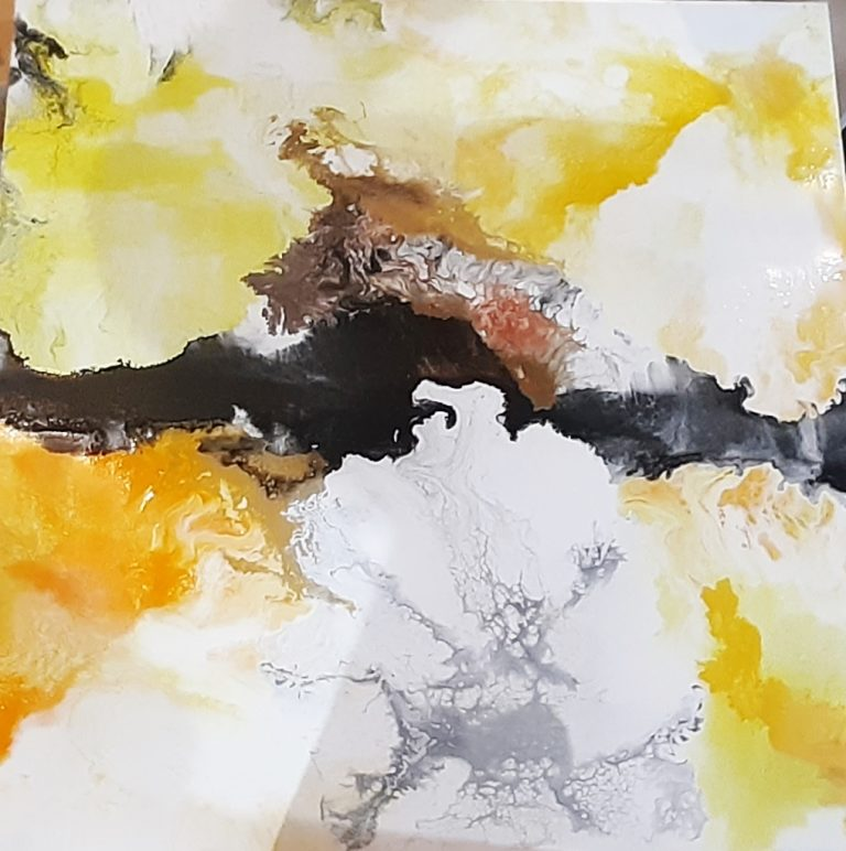 Sunny Days Commission Mixed media pour